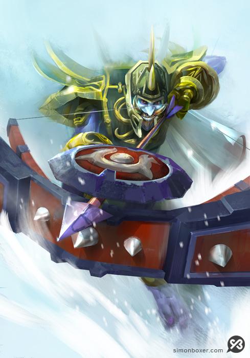 Warcraft Troll Survival Hunter Hero Blizzard illustration assignment concept art
