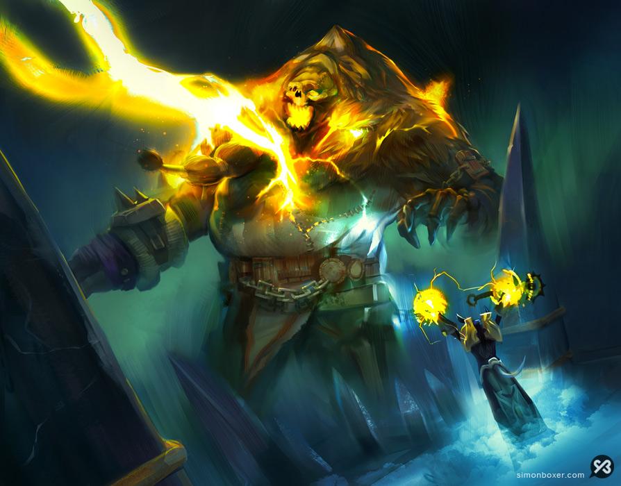 Simon-Boxer-CONCEPTART-WarcraftVanquishEvil